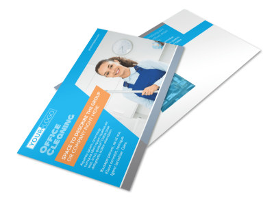 Office Cleaning Specialist Postcard Template 2