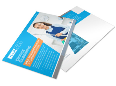 Office Cleaning Specialist Postcard Template