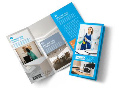 grow your client list by educating prospective clients on what you bring to the table with customized janitorial cleaning brochures