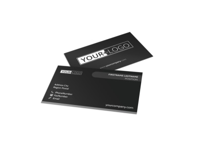 Generic Business Card Template 10960 preview