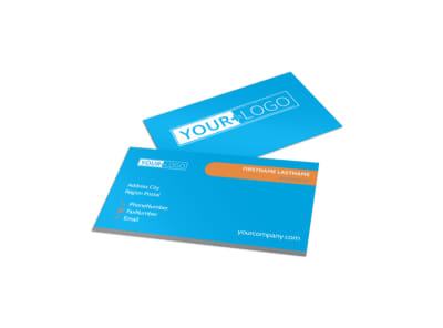 Office Cleaning Specialist Business Card Template