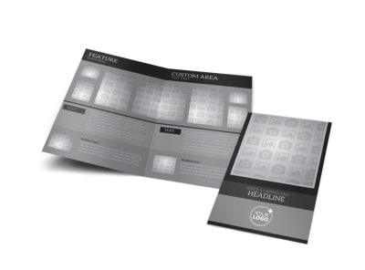 Generic Bi-Fold Brochure Template 10965 preview