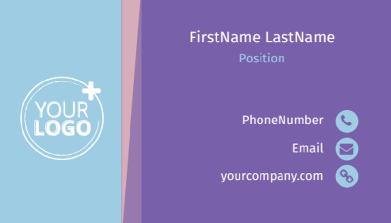 Fun Baby Shower Service Business Card Template Preview 2