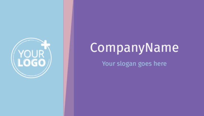 Fun Baby Shower Service Business Card Template Preview 3