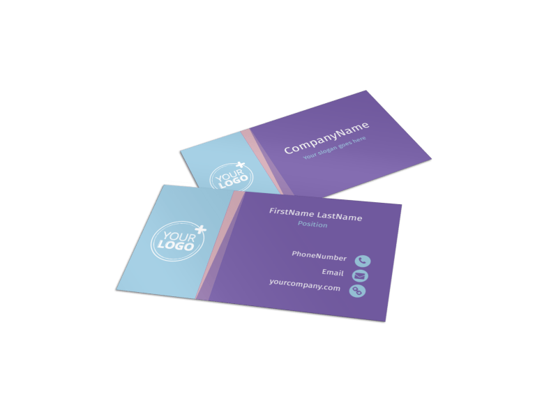 Fun Baby Shower Service Business Card Template Preview 1