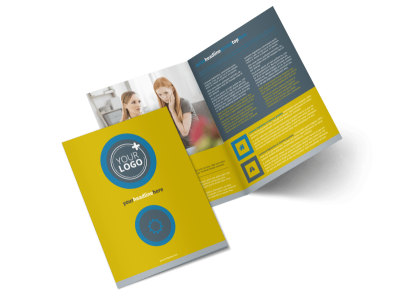Elite Mental Health Bi-Fold Brochure Template 2