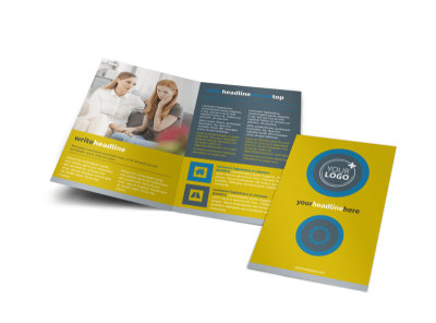 Elite Mental Health Bi-Fold Brochure Template