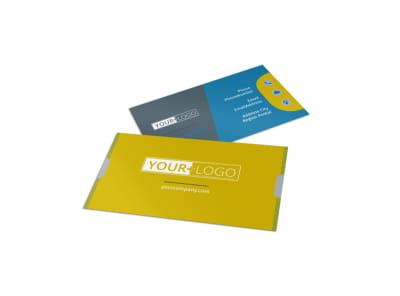 Elite Mental Health Business Card Template