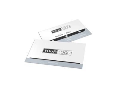 Generic Business Card Template 10996