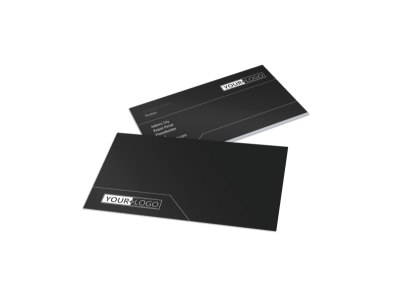 Generic Business Card Template 11005 preview