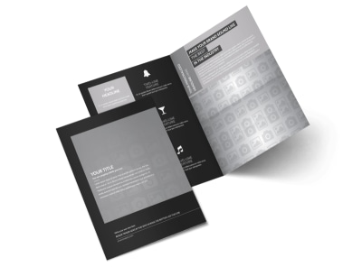 Generic Bi-Fold Brochure Template 11006