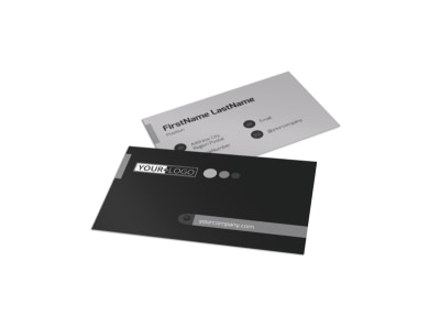 Generic Business Card Template 11023 preview