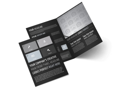 Generic Bi-Fold Brochure Template 11024 preview