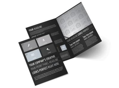 Generic Bi-Fold Brochure Template 11024