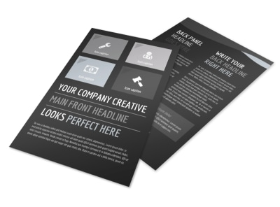 Generic Flyer Template 11026 preview