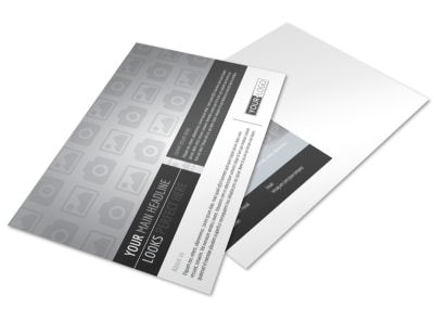 Generic Postcard Template 11027 preview