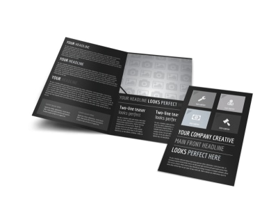 Generic Bi-Fold Brochure Template 11028 preview