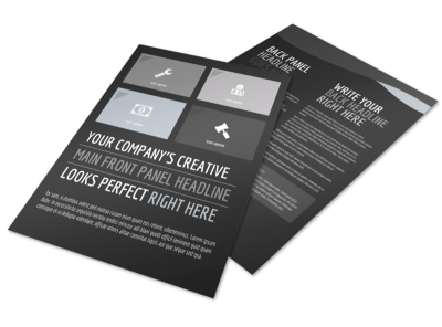 Generic Flyer Template 11029