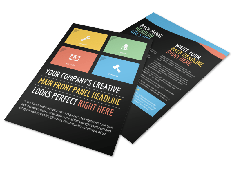 Top Fitness Center Flyer Template Preview 1