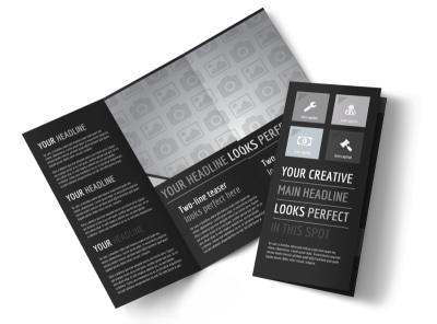 Generic Tri-Fold Brochure Template 11030
