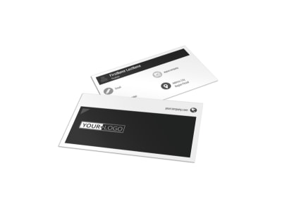 Generic Business Card Template 11032