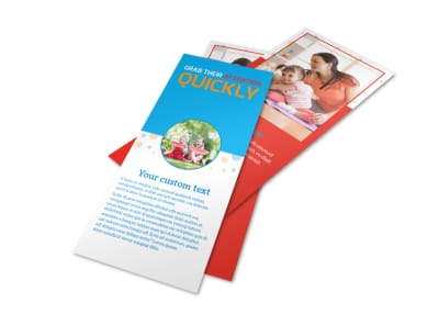 Just For Kids Health Flyer Template 2