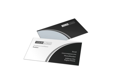 Generic Business Card Template 11041