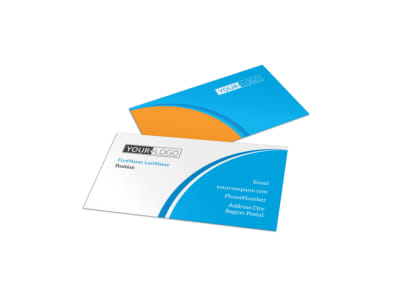 Just For Kids Health Business Card Template preview