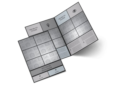 Generic Bi-Fold Brochure Template 11042