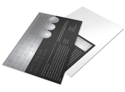 Generic Postcard Template 11045