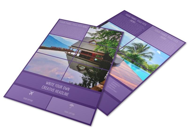 Luxury Villa Rental Flyer Template