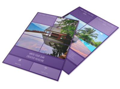 Luxury Villa Rental Flyer Template
