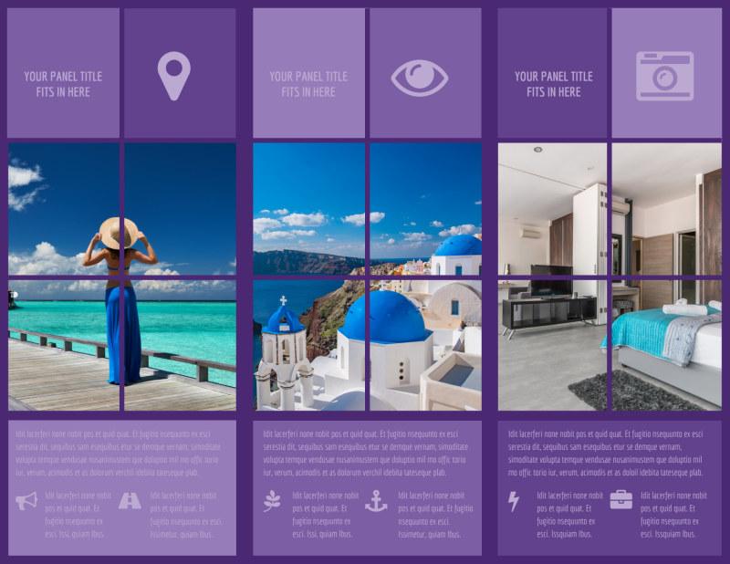 Luxury Villa Rental Brochure Template Preview 3