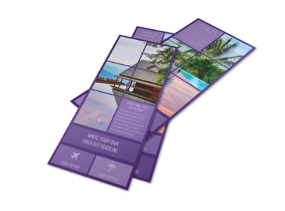 Luxury Villa Rental Flyer Template 2