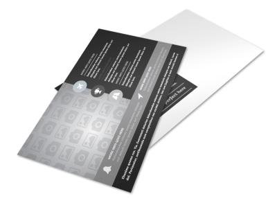 Generic Postcard Template 11052