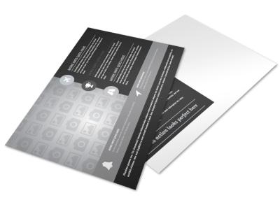 Generic Postcard Template 11054