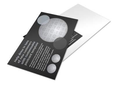 Generic Postcard Template 11061 preview
