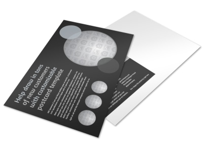 Generic Postcard Template 11063 preview