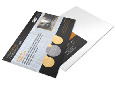 Elite Commercial Real Estate Postcard Template preview