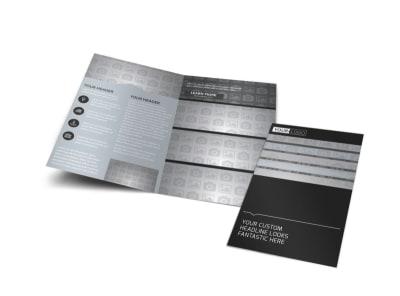 Generic Bi-Fold Brochure Template 11073 preview