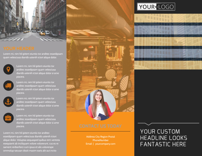 Elite Commercial Real Estate Brochure Template Preview 2