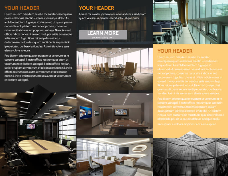Elite Commercial Real Estate Brochure Template Preview 3