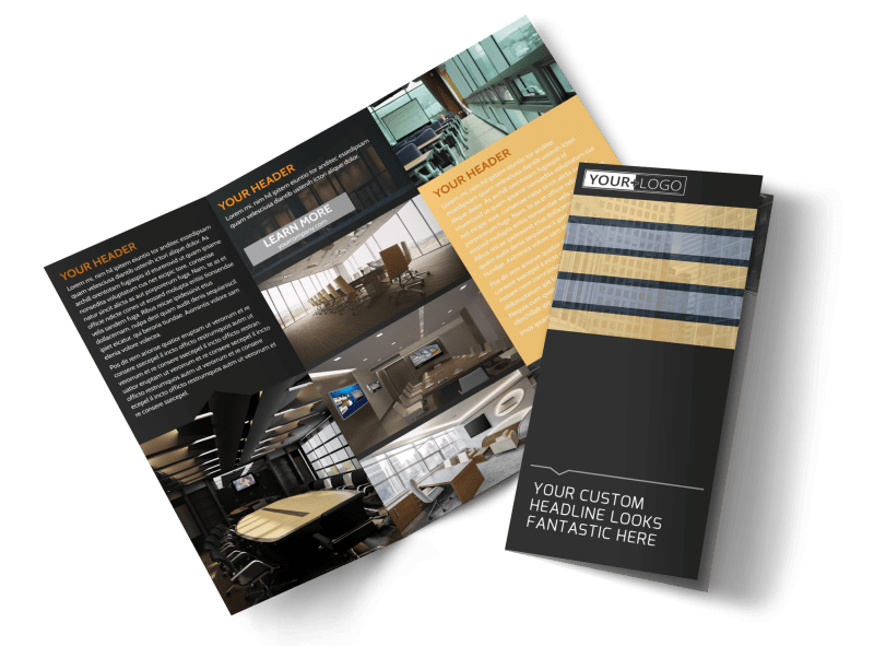 Elite Commercial Real Estate Brochure Template Preview 1