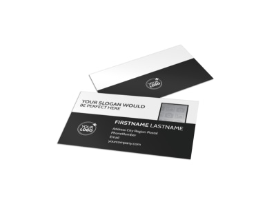 Generic Business Card Template 11077 preview