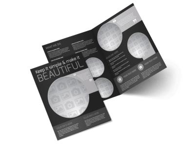Generic Bi-Fold Brochure Template 11078