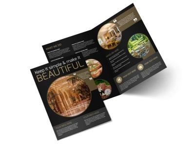 Five Star Luxury Hotels Bi-Fold Brochure Template 2 preview