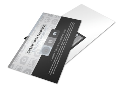 Generic Postcard Template 11079 preview