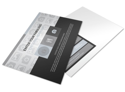 Generic Postcard Template 11081 preview