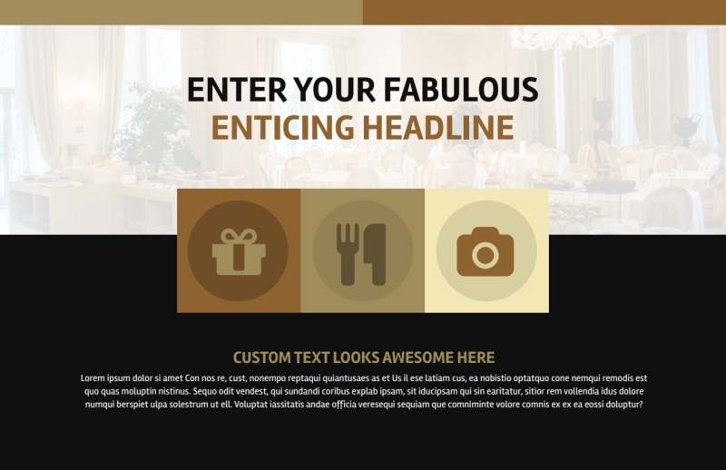 Five Star Luxury Hotels Postcard Template Preview 2