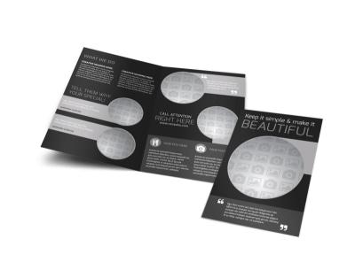 Generic Bi-Fold Brochure Template 11082